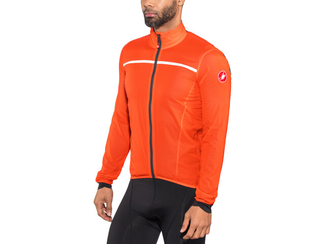 Castelli Superleggera Jacket Herren orange